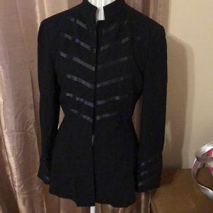 Donna Karan New York sz 10 lined jacket like new